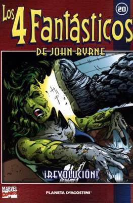 Coleccionable Los 4 Fantásticos de John Byrne (2002) (Rústica 80 pp) #20