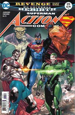 Action Comics Vol. 1 (1938-2011; 2016-) (Comic Book) #979
