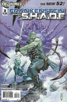 Frankenstein: Agent of S.H.A.D.E. (Comic book) #3