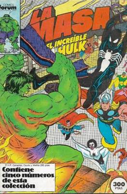 La Masa. El Increíble Hulk (Retapado 1ª Etapa. 180 páginas) #8