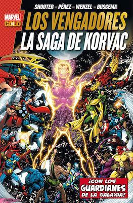 Los Vengadores: La saga de Korvac - Marvel Gold (Edición definitiva)