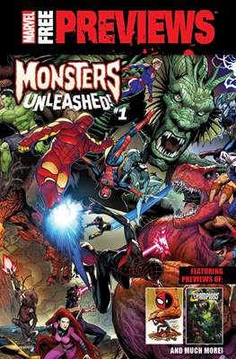 Marvel Free Previews: Monsters Unleashed