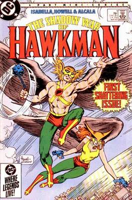 The Shadow War of Hawkman #1
