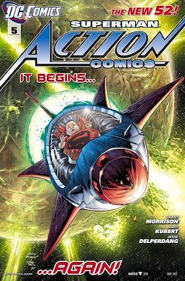Action Comics Vol. 2 (2011-2016) #5