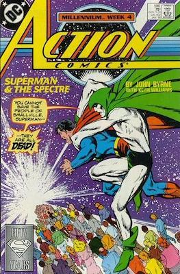 Action Comics Vol. 1 (1938-2011; 2016-) (Comic Book) #596