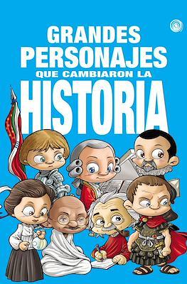 Grandes personajes que cambiaron la historia (Cartoné 56 pp)