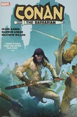 Conan The Barbarian By Aaron & Asrar
