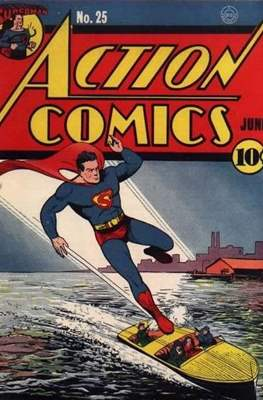 Action Comics Vol. 1 (1938-2011; 2016-) (Comic Book) #25