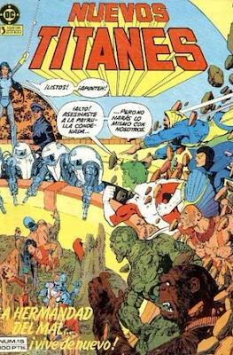 Nuevos Titanes Vol. 1 (1984-1988) (Grapa 40 pp) #15