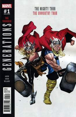 Generations - The Thunder (Variant Cover) (Comic Book) #1.1