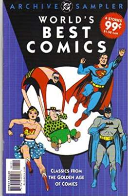 World's Best Comics Classics From The golden Age - Archive Sampler