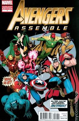 Avengers Assemble Vol. 2 (2012-2014 Variant Cover)