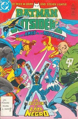 Batman y los Outsiders (Grapa) #9