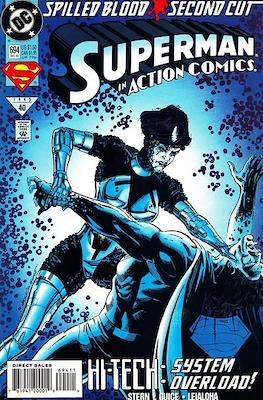 Action Comics Vol. 1 (1938-2011; 2016-) (Comic Book) #694