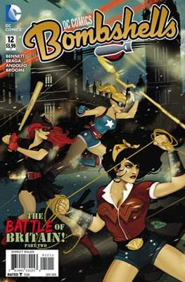 DC Comics: Bombshells (Comic Book) #12
