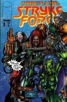Codename: Strykeforce (1994-1995) (Comic Book) #8