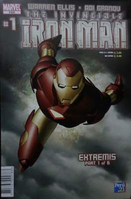 The Invincible Iron Man Extremis (Grapa) #1