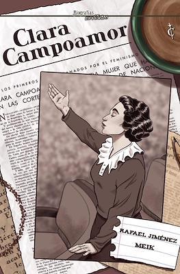 Biografías en viñetas (Cartoné) #1