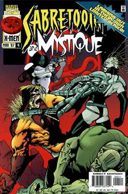 Sabretooth and Mystique Vol 1 (Comic-Book/Digital) #4