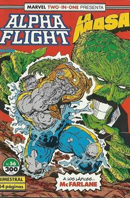 Alpha Flight Vol. 1 / Marvel Two-in-one: Alpha Flight & La Masa Vol.1 (1985-1992) (Grapa 32-64 pp) #56