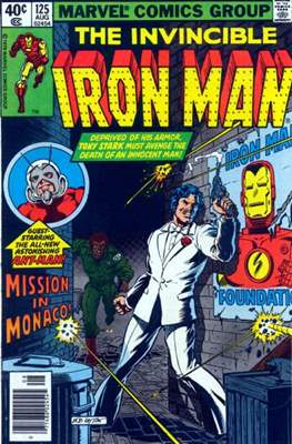 Iron Man Vol. 1 (1968-1996) (Comic book) #125