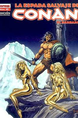 La Espada Salvaje de Conan el Bárbaro. Edición coleccionistas (Rústica 64 pp) #45