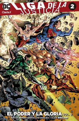 Liga de la Justicia (Rustica) #2