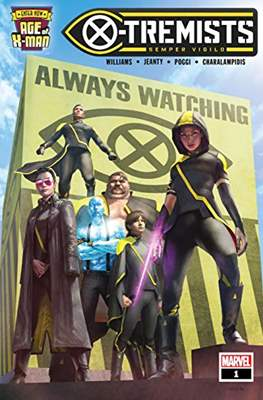 Age of X-Man: X-Tremists (2019) (Comic Book) #1