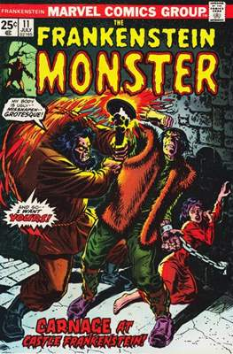 The Frankenstein monster (Grapa) #11