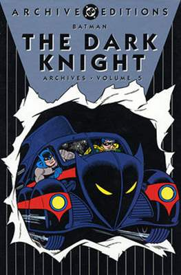 DC Archive Editions. Batman The Dark Knight (Hardcover with dust cover) #5
