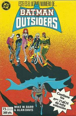 Batman y los Outsiders (1986) (Retapado Rústica) #5