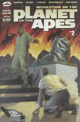 Revolution on the Planet of the Apes (Comic Book 32 pp) #2