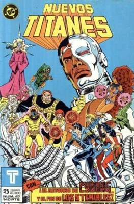 Nuevos Titanes Vol. 1 (1984-1988) (Grapa 40 pp) #47