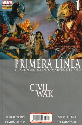 Civil War: Primera Línea (2007) (Rústica) #1