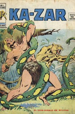 Ka-Zar (1974-1977) (Rústica 40 pp) #5