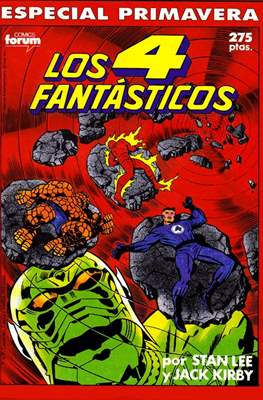 Los 4 Fantásticos Vol. 1. Especiales (1983-1994) (Grapa 64 pp) #1