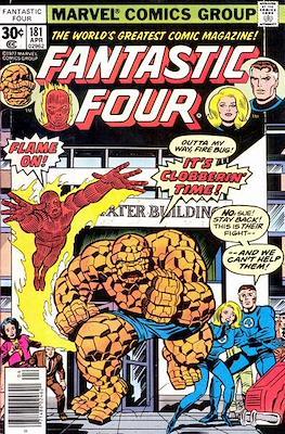 Fantastic Four Vol. 1 (1961-1996) (saddle-stitched) #181