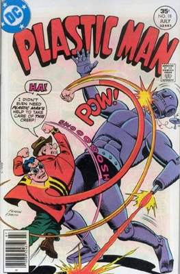 Plastic Man vol.2 (1966-1977) (Grapa, 32 págs.) #18
