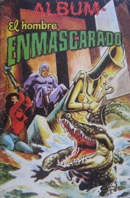 Album El Hombre Enmascarado (Rústica) #8