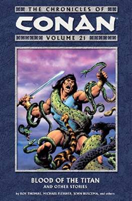 The Chronicles of Conan the Barbarian (Paperback) #21