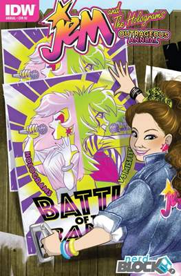 Jem and The Holograms Outrageous Annual