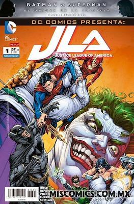 Justice League of America (2016 Portada variante)