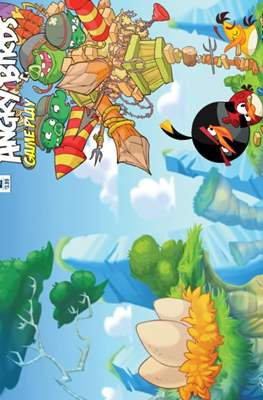 Angry Birds game play #2