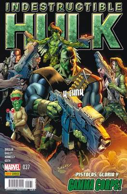 El Increíble Hulk Vol. 2 / Indestructible Hulk / El Alucinante Hulk / El Inmortal Hulk (2012-) (Grapa) #37