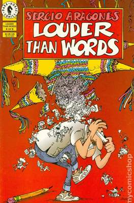 Sergio Aragonés Louder than Words (Miniserie) #4