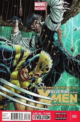 Wolverine and the X-Men Vol. 1 #23