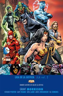 Grandes Autores de Liga de la Justicia: Grant Morrison (Cartoné) #2
