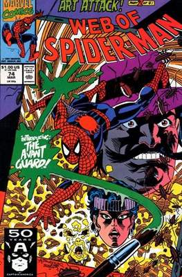 Web of Spider-Man Vol. 1 (1985-1995) (Comic-book) #74