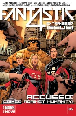 Fantastic Four Vol. 5 (Comic Book) #5