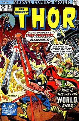 Journey into Mystery / Thor Vol 1 (Comic Book) #244